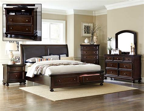 bedroom sets for less homelegance faust bedroom set dark cherry 1834 bedroom