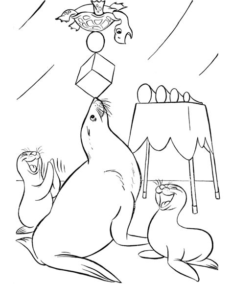 printable coloring pages of circus animals circus animals coloring pages