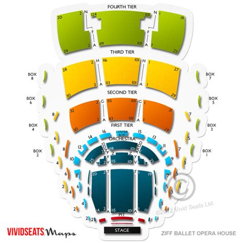 adrienne arsht center seating chart miami ziff ballet opera house at adrienne arsht pac seating