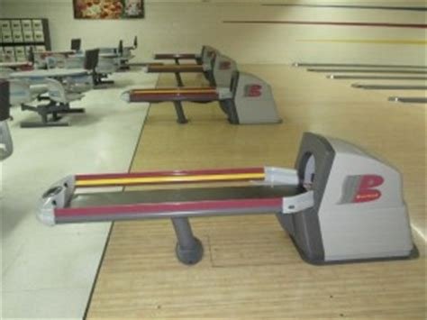 sale on a complete bowling alley center