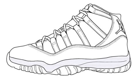 The Stylish Jordan Shoe Coloring Pages Regarding Encourage Air 5 Coloring Page