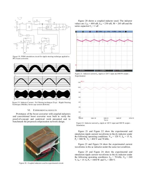 coupled inductor in psim the effect of ripple steering on loop stability for ac cm pfc