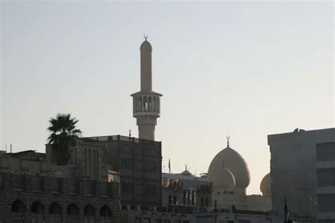 Cupola Dubai Minaret And Cupola Just Before Sunset Dubai Mosques