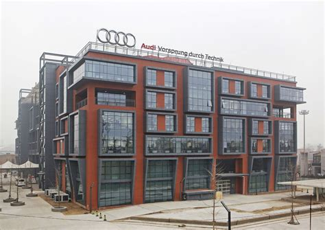 Audi R D Center by Audi Opens Research Development Center For Asia In