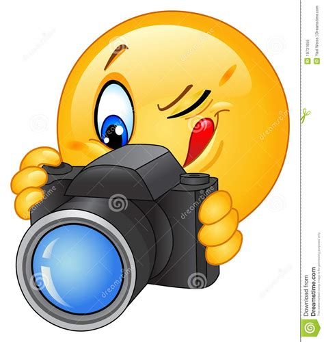 chat gratis camara camera emoticon royalty free stock photo image 19731655