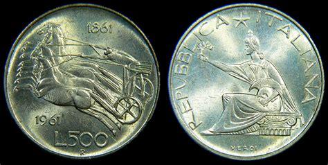 500 lire centenario d italia valore il di sas 224 o professore la moneta da 500 lire la