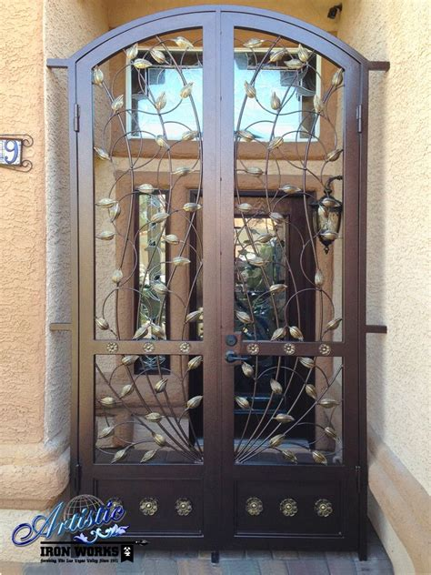 Wrought Iron Front Door Gates Wrought Iron Vine Front Door Entry Gate Wrought Iron Entryways Pi