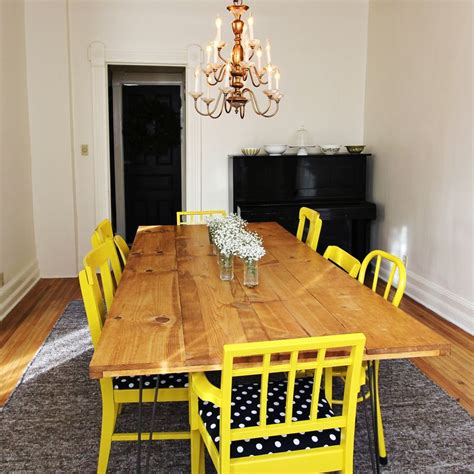 Dining Room Diy Diy Dining Room Table Brit Co