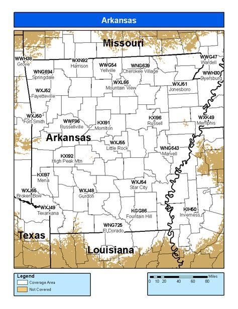 arkansas weather radar map arkansas noaa national weather service audio