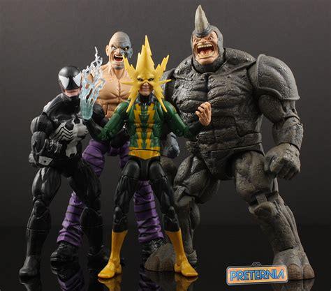 Marvel Legends Invinite Electro hasbro marvel legends electro review 171 preternia