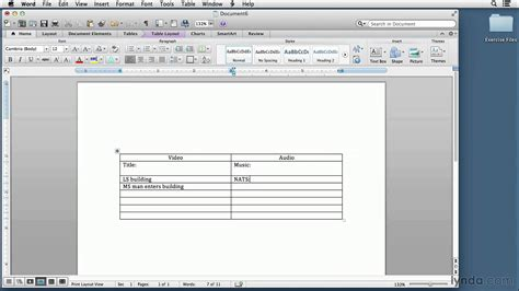 microsoft word two column layout video script writing tutorial setting up a two column