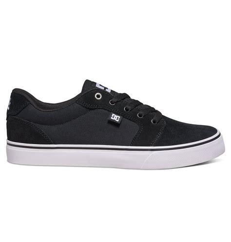 Dc Anvil Black dc shoes s anvil shoes colored black white black dc