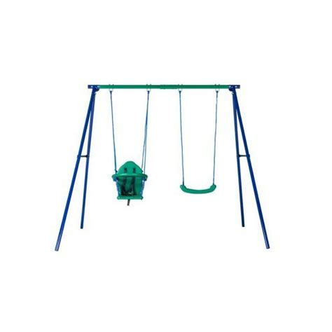 action sports swing set action gold series 2 unit swing set and bonus seat