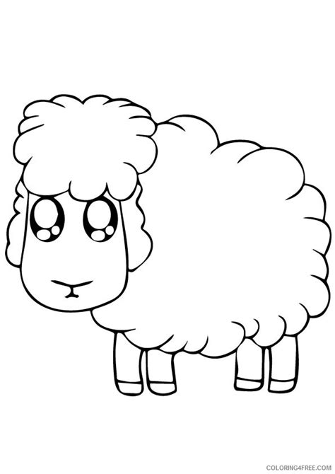 cute lamb coloring pages cute lamb sheet preschool coloring pages