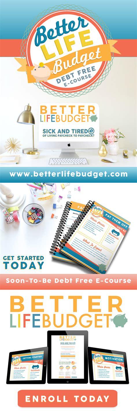 life budget debt     beautiful home
