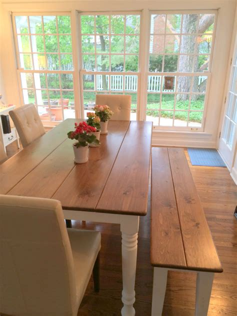 Dining Room Table With Bench And Chairs Dining Room Top Modern Country Farm Table Dining Room Design Ideas Farmhouse Dining Table And