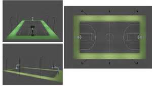 basketball court outdoor lighting techlight court basketball court