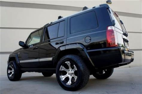 07 Jeep Commander Purchase Used 07 Jeep Commander Overland 4wd Hemi Nav