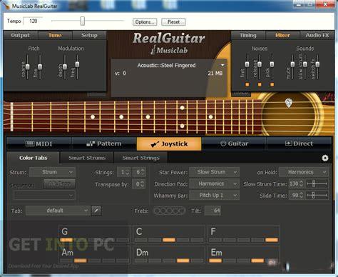 Download Pattern Real Guitar | musiclab realguitar free download
