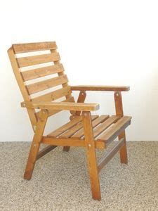 build  simple wooden chair   outdoor