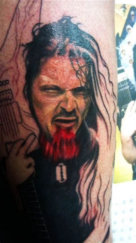 dimebag darrell tattoos dimebag darrell tribute tattoos 100 pics