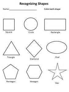 free shapes worksheets kiddo shelter