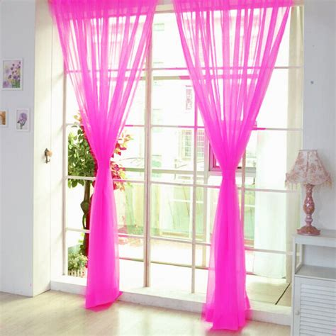how to drape voile over a curtain pole colorful door window voile curtain drape panels sheer