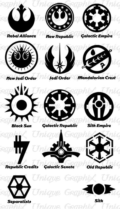 tattoos are the new status symbols among chefs in star wars symbols vinyl decal sticker for the kids