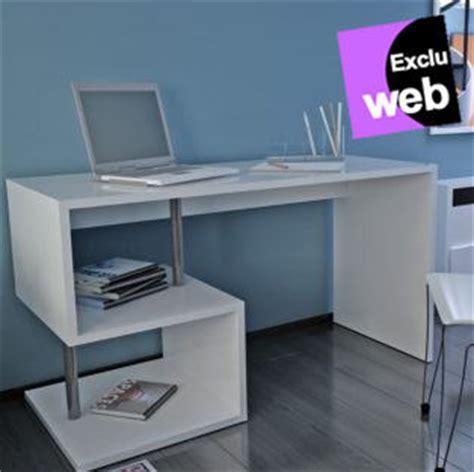 bureau blanc moderne bureau blanc mat style moderne esse bureau alin 233 a