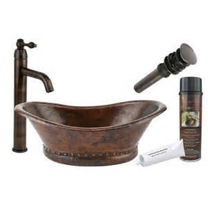 copper vessel sinks bathroom premier copper products bath tub vessel bathroom sink