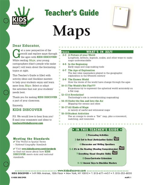 globe and maps lesson plan maps discover