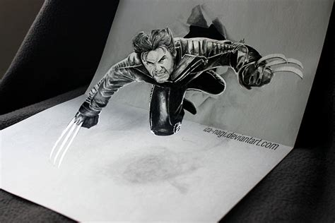 3d drawing 33 of the best 3d pencil drawings bored panda
