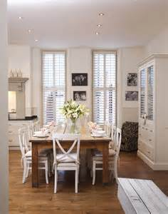 Ideas Country Style Dining Rooms White Country Dining Room Dining Room Decorating Ideas Lonny
