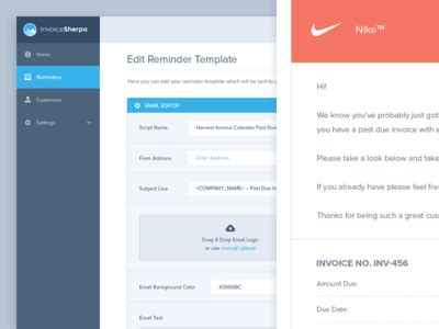 email pattern in js invoice sherpa email template editor by balkan brothers
