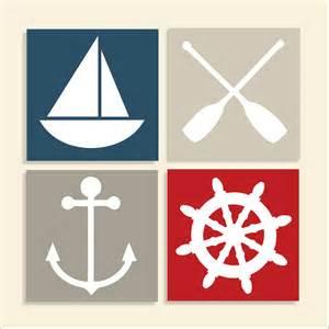 Nautical Nautical Theme Children S Wall Art Nursery Wall Art