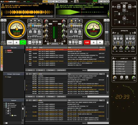 mp3 cutter dj mixer free download dj promixer free home edition 1 5 screenshots