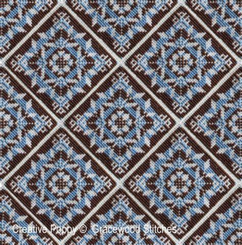 New Motif 3 gracewood stitches swatchables rondo motif 3