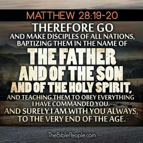 Marriage Bible Verse Matthew by Matthew 28 19 20 Bible Verses