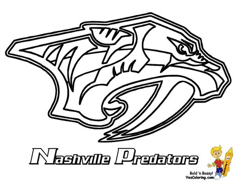 le hockey logos coloring pages