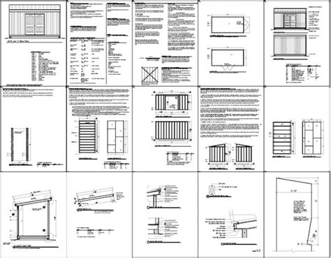Free 8 X 16 Shed Plans by Free Shed Plans 8 X 16 Designing An 8 215 10 Shed Plan