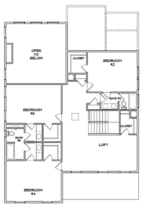 dan ryan builders floor plans view the rosecroft floor plan in summers corner by dan