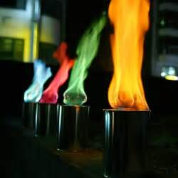 color flames are there going to be different colored flames