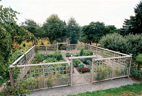 Garden Enclosure Ideas Deer Proof Garden Fence Ideas Sunset