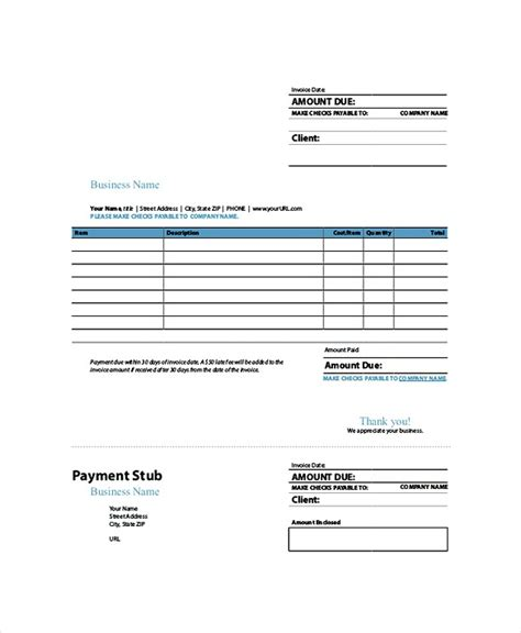 invoice template indesign indesign invoice template