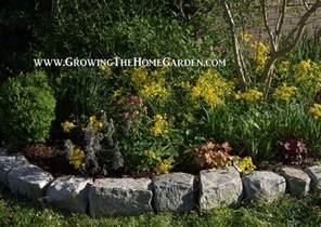 Rocks For Garden Borders Rocks For Garden Borders Growing The Home Garden