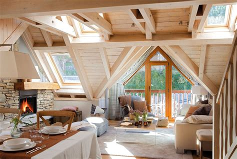 cozy rustic mountain retreat   contemporary twist