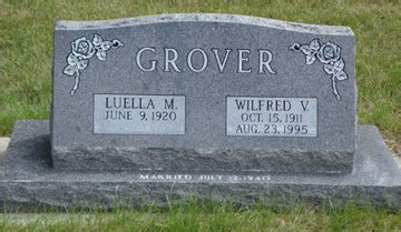 Minnesota Birth Records Biography Of W V Grover