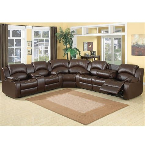 best deals on sectional sofas samara 3 reclining sectional overstock com