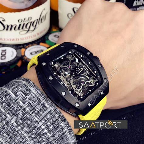 Jam Richard Mille Rafael Rm35 02 Ultimate Swiss Eta richard mille yellow eta saat rm35 02 rafael nadal tpt