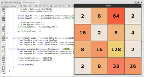 code mod game java javafx and java 8 version of the 2048 game dzone devops
